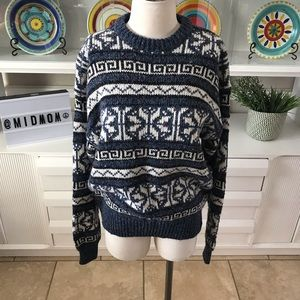 Vintage Peter England acrylic wool sweater